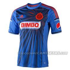 ¡Espectacular modelo de coleccionista! Camisetas: Nueva Adidas Gala #Chivas Guadalajara 2014: http://www.elenganche.es/2014/03/camisetas-nueva-adidas-gala-chivas-guadalajara-2014.html