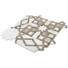 Bellatrix Smokey Ash Marble Tile | Tilebar.com