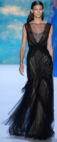 Monique Lhuillier Spring Summer 2013 Ready-To-Wear Collection