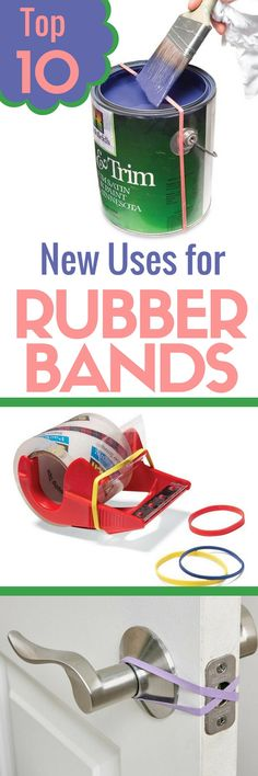 You'll never look at a simple rubber band the same way again! Check out these ingenious hacks and practical uses for rubber bands that go far beyond their intended use. Rubber bands will soon become one of the most useful items in your toolbox.