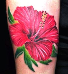 One beautiful symbolic flower tattoo popular among women is the delicate hibiscus flower. The hibiscus is an exotic flower that originates in the Pacific.