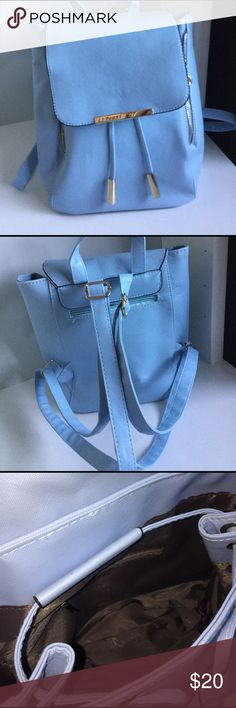 Tiffany Blue Backpack Bag BRAND NEW Never used.not the color for me. Bags Backpacks