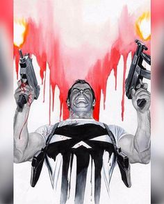 Frank looks good in White And Red!  @thealexrossart   Go read a comicbook!! Download at nomoremutants-com.tumblr.com   #marvelcomics #Comics #marvel #comicbooks #avengers #captainamericacivilwar #xmen #xmenapocalypse  #captainamerica #ironman #thor #hulk #ironfist #spiderman #inhumans #civilwar #lukecage #infinitygauntlet #Logan #X23 #guardiansofthegalaxy #deadpool #wolverine #drstrange #infinitywar #thanos #gotg #RocketRaccoon #groot #nomoreinhumans http://ift.tt/2fpftdm