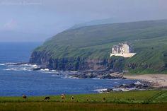 Dunbeath Castle. Caithness