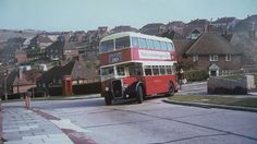 Double decker Brighton & Hove City bus in Carden Hill, Patcham in the Photo: Howard Butler, Streets of Brighton London Transport, Public Transport, Blue Bus, Kingston Upon Thames, Bus Coach, Brighton And Hove, Taxi, Bristol, Old Photos