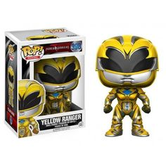 From Power Rangers, Yellow Ranger, as a stylized POP vinyl from Funko! Figure stands 3 inches and comes in a window display box. Check out the other Power Rangers figures from Funko! Power Rangers Movie 2017, Power Rangers Figures, Power Rangers Toys, Figurines D'action, Pop Vinyl Figures, Paw Patrol, Aliens, Stranger Things, Power Ranger Black