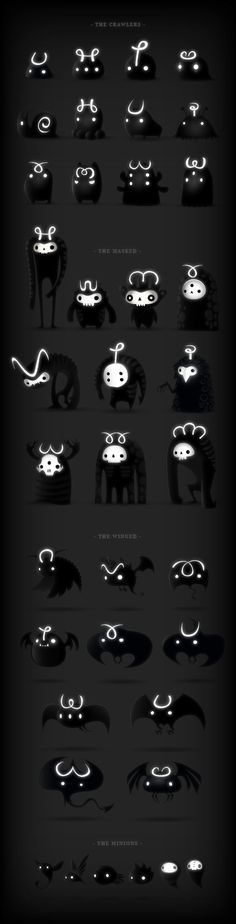 DARKLINGS by Juan Casini, via Behance