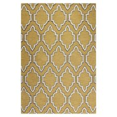 """Hand-tufted wool rug with a trellis-inspired motif.  Product: RugConstruction Material: 100% WoolCol...$484 8'6""""x11'6"""""""