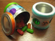 Ever have a hard time keeping kids quiet during the megilla? Problem solved with this multi-tasking gragger!  I found this small spice jar at a local craft store, and instantly thought about filling it half way with small candies, just enough to