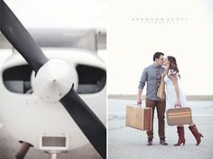 Engagement Shoot: Aviation