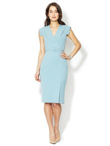 Wrap Front Sheath Dress by Ava & Aiden at Gilt