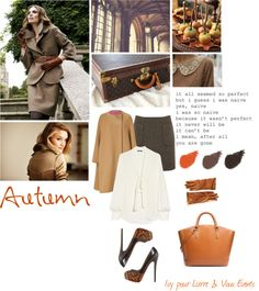 """""""Style d'Automne"""" by lierreetc ❤ liked on Polyvore"""