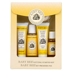 Shop the best Burt's Bees Baby Bee Getting Started Kit 1 Kit products at Swanson Health Products. Trusted since we offer trusted quality and great value on Burt's Bees Baby Bee Getting Started Kit 1 Kit products. Burts Bees Gift, Baby Toiletries, Baby Skin Care, Baby Care, Bee Gifts, Baby Kit, Thing 1, Baby Supplies, Baby Gift Sets