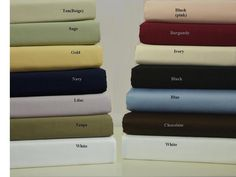 King Cal King Solid 300 Thread count Waterbed Sheets With Pole Attachments $74.99 www.scotts-sales.com