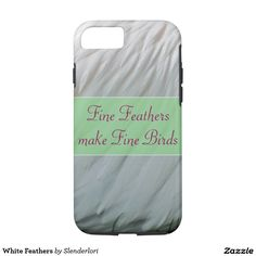White Feathers Smartphone Case