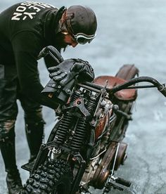 """motomood: """"with the weather conditions out there I am seriously considering this bike """""""