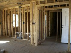 Feb 15 -- Galley plumbing on left.  Foyer on right.