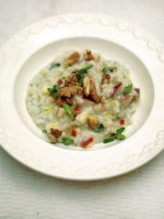 Apple & Walnut Risotto | Rice Recipes | Jamie Oliver Recipes