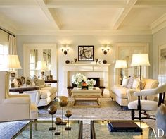 the best sofa to buy | laurel bern's #1 pick! | decorating help in NY | lovely pale living room by Joseph Kremer featuring the # sofa interior designers specify most often