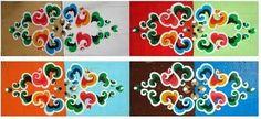 MIRELLE: Mongolian Ger Furniture pattern