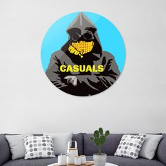 Discover «Casuals-1», Limited Edition Disk Print by Jayne Walsh - From $65 - Curioos