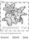 December First Grade Coloring Pages product from APlusAcademics on TeachersNotebook.com