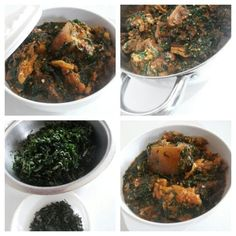Ogbono Soup with Fluted Pumpkin and Uziza Leaves Nigerian Food, Palak Paneer, I Am Awesome, Soup, Pumpkin, Leaves, Ethnic Recipes, Pictures, Photos
