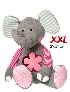 XXL Sweety Flower Elephant