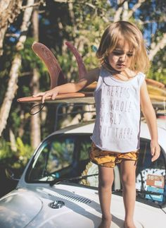 Such a cute picture, future surfer I'm sure. Fashion Kids, Girl Fashion, Boho Fashion, Baby Kind, Baby Love, Baby Baby, Kids Brand, Cute Kids, Cute Babies