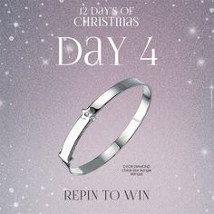#Win 1 of @dfordiamond girls bangle! Simply follow The Jewel Hut on Pinterest and #RepinToWin. Ends midnight tonight! T&C's Apply. #Giveaway #Competition