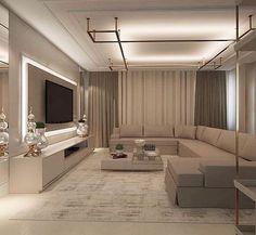 House Interior Design - New ideas Living Room Tv Unit Designs, Living Room Sofa Design, Home Room Design, Living Room Interior, Home Living Room, Home Interior Design, Modern Interior, Living Room Decor, House Design