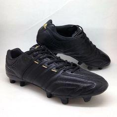 18df1144f56aba adidas mens adiPure 11Pro Football Boots Black sz 9 TRX Soccer Cleat US 9.5  43.3   eBay