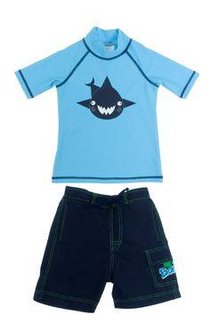 ac2894ab97da0 Shark Turquoise SS top and Navy Boardshorts Uv Swimwear, Boardshorts,  Shark, Tee Shirts