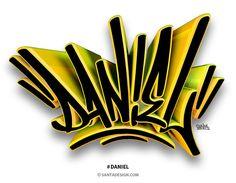 딸을 위해 시작하게 된... #강다니엘 #그래피티 #Daniel #Graffiti #3D #Tagging