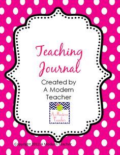 Using Teaching Journals FREE