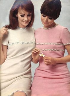 Interesting idea for Babe. Ironically, a slightly sweet, innocent look. From the 60's, like someone living in the past.