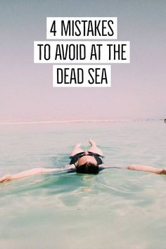 Visiting the Dead Sea is a bucketlist destination for many! Before you visit the Dead Sea for the first time, read these handy Dead Sea tips. Travel Goals, Travel Advice, Travel Style, Travel Guides, Travel Tips, Travel Fashion, Budget Travel, Travel Destinations, Israel Travel