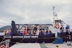 Skye Wedding.   Glass Bottom Boat. Seaprobe Atlantis