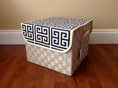 Diaper Change and Storage Solution! Baby Changes Diaper Storage and Changing by NeutralNursery on Etsy Diaper Storage, Diaper Change, Nursery Organization, Family Organizer, Changing Mat, Nursery Neutral, Storage Solutions, Baby Baby, Ava