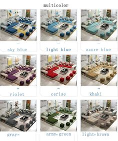Source Furniture Factory Provided Living Room Sofas/Fabric Sofa Bed Royal Sofa on m.alibaba.com Corner Sofa Design, Sofa Bed Design, Living Room Sofa Design, Home Room Design, Living Room Designs, Cheap Sofa Sets, Sofa Layout, Rustic Living Room Furniture, Wooden Furniture
