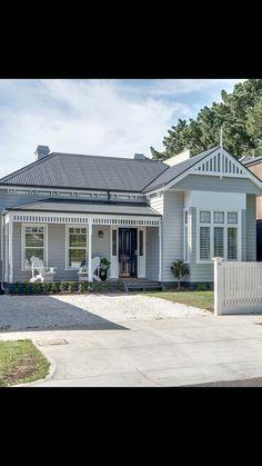 Best Exterior Paint Colora For House Colour Schemes Australian 20 Ideas Best Exterior Paint, Exterior Paint Colors For House, Paint Colors For Home, Exterior Colors, Exterior Design, Paint Colours, Hamptons Style Homes, Hamptons House, Country Style Homes