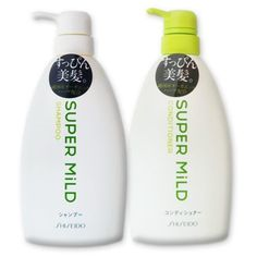 Shiseido Super Mild Hair Care Set Shampoo  Conditioner  2 x 600ml Pump Bottles >>> You can find more details by visiting the image link.