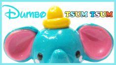 Disney polymer clay tutorial Dumbo Tsum Tsum charm