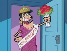 when Timmy's dad wins the pageant - Fairly Odd Parents Cartoon Crossovers, Cartoon Memes, Cartoon Icons, Old Cartoon Shows, Cosmo And Wanda, The Fairly Oddparents, Fairly Odd Parents, Old Cartoons, Groomsmen