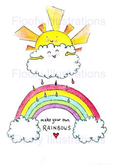 Make your own RAINBOWS
