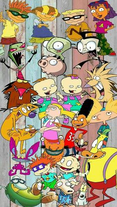 Nickelodeon wallpaper You are in the right place about cartoons doug Here. Cartoon Network Viejo, Cartoon Network 90s, Cartoon Network Characters, Classic Cartoon Characters, Cartoon Wallpaper Iphone, Wallpaper Iphone Cute, Cute Wallpapers, Computer Wallpaper, Nickelodeon Cartoons