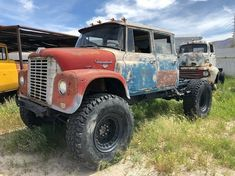 rat rod trucks and cars Old Dodge Trucks, Dually Trucks, Old Pickup Trucks, Big Rig Trucks, Mini Trucks, Chevrolet Trucks, Diesel Trucks, Cool Trucks, Lifted Trucks
