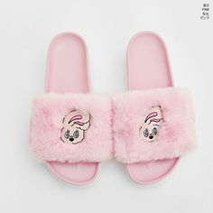 Estherloveschuu Fur Slippers - I know you wanna kiss me. Thank you for visiting CHUU.
