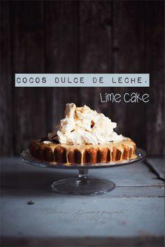 dulce de leche cocOnut & lime cake