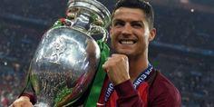 Ronaldo: Portugal Juara Piala Eropa (EURO) 2016, Messi Tak Lagi Sebanding